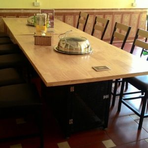 Bàn ghế quán nướng TS240