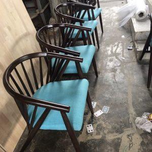 Ghế cafe gỗ cao cấp Genny