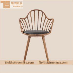 Ghế gỗ cafe con Sò