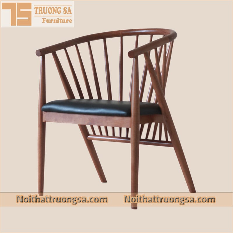 Ghế gỗ cafe Genny