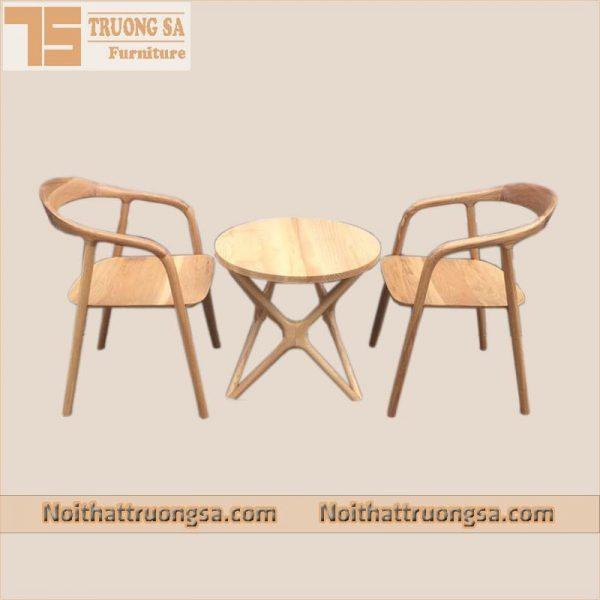 Ghế gỗ cafe Neva