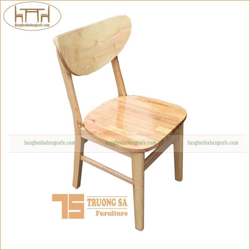 Ghế nhà hàng, cafe gỗ tự nhiên
