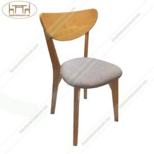 Ghế gỗ cafe UMA bọc nỉ