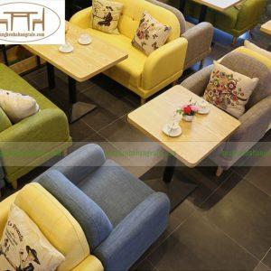 Sofa quán cafe đẹp