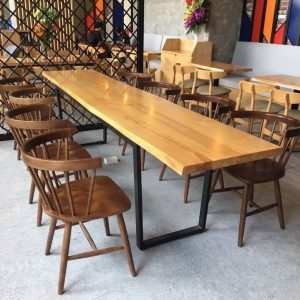 ghế gỗ cafe TS172