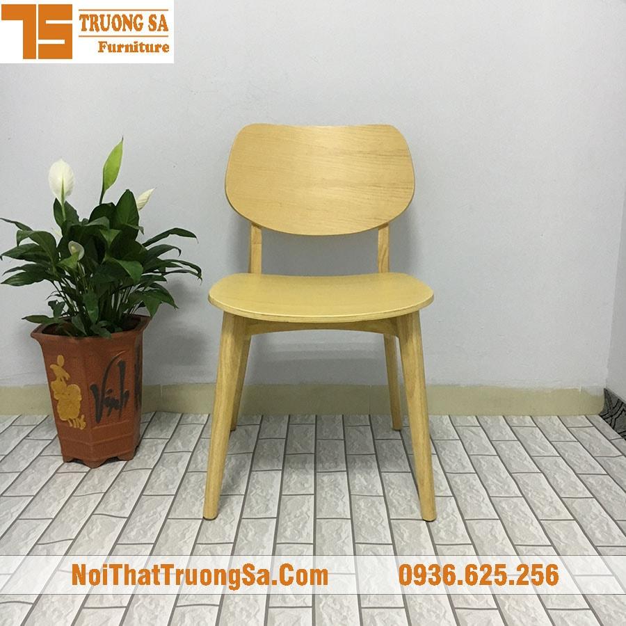 Ghế cafe TS168 - Màu tự nhiên