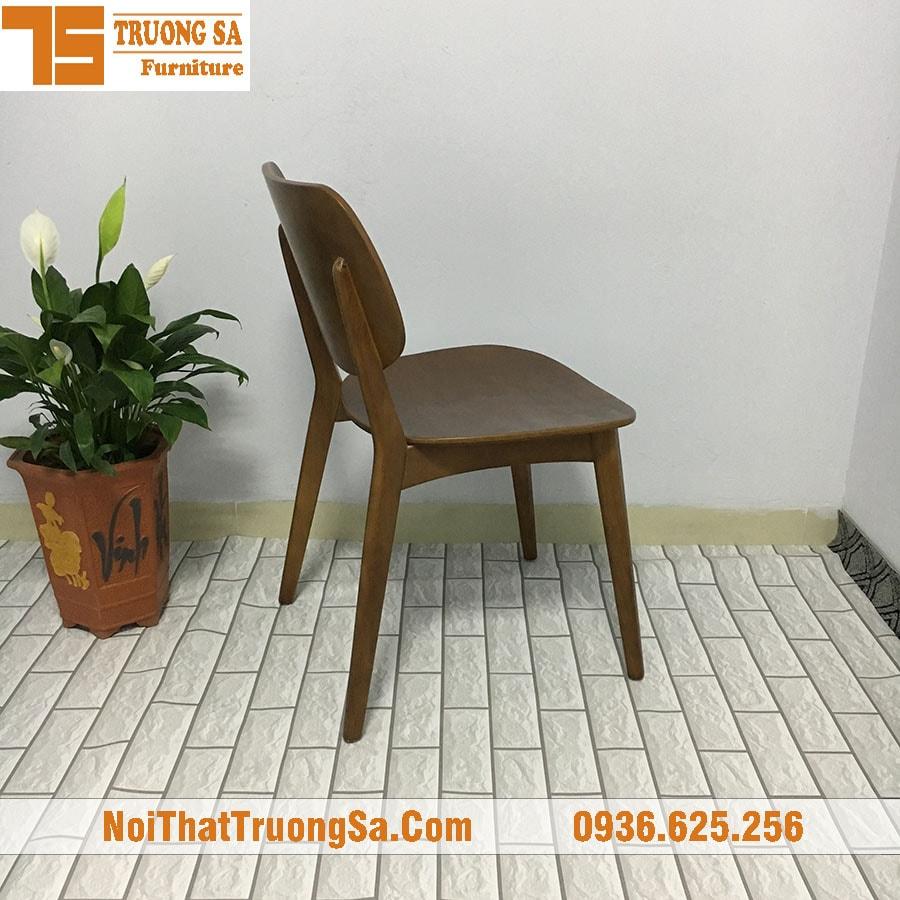 Ghế cafe TS168 - Màu walnut