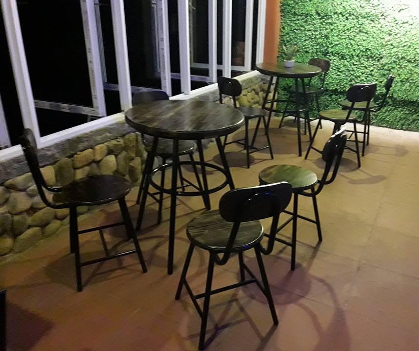 bàn ghế vintage