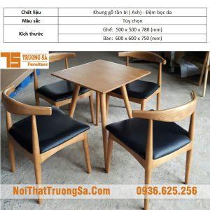 Bàn ghế cafe TS177