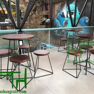 Bàn ghế cafe TS46