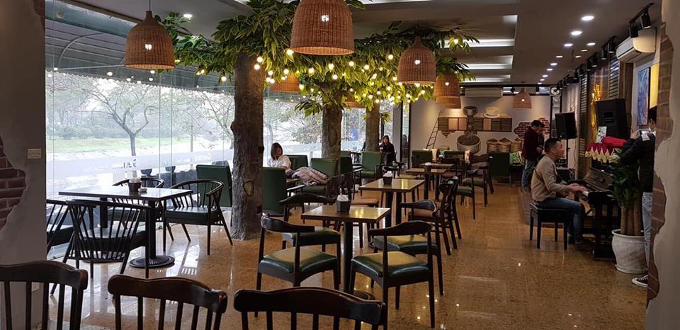 ghế gỗ cafe TS177