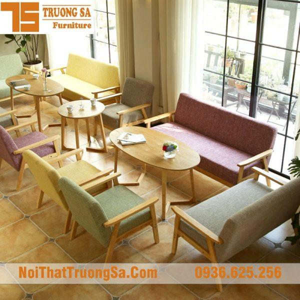 Sofa cafe cao cấp TS258