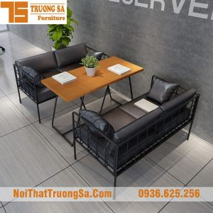 Bàn ghế sofa cafe TS266