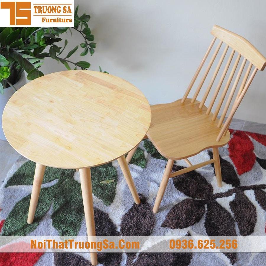 Ghế gỗ cafe đẹp giá rẻ
