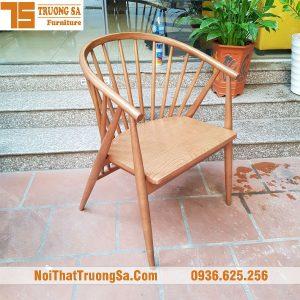 Ghế gỗ cà phê cao cấp genny