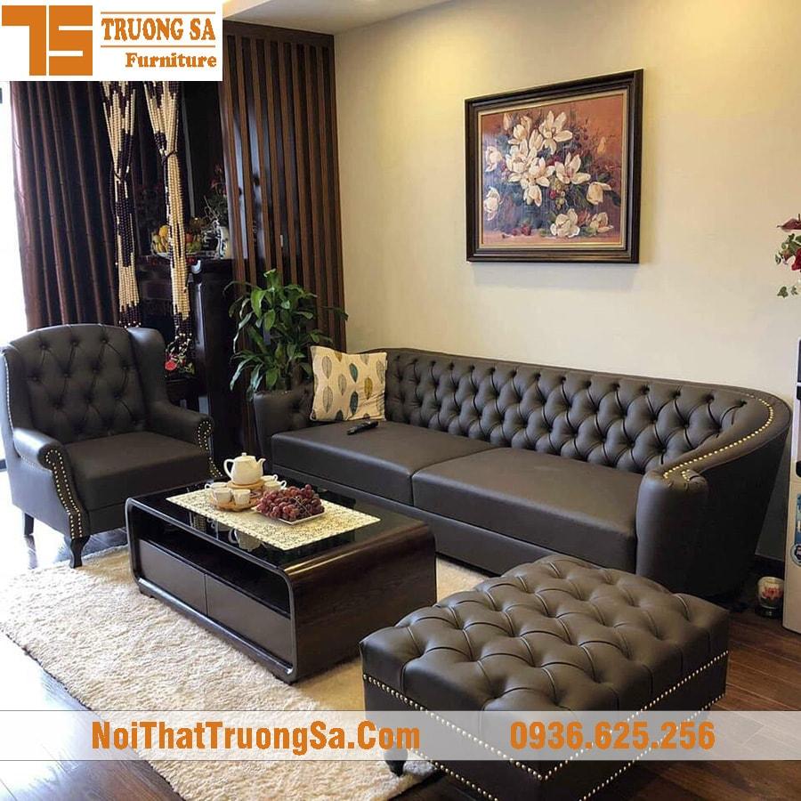 Sofa cao cấp phòng khách TS290