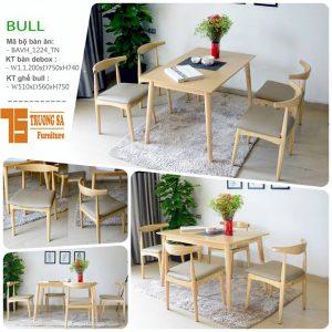 Bàn ghế gỗ phòng ăn đẹp TS306
