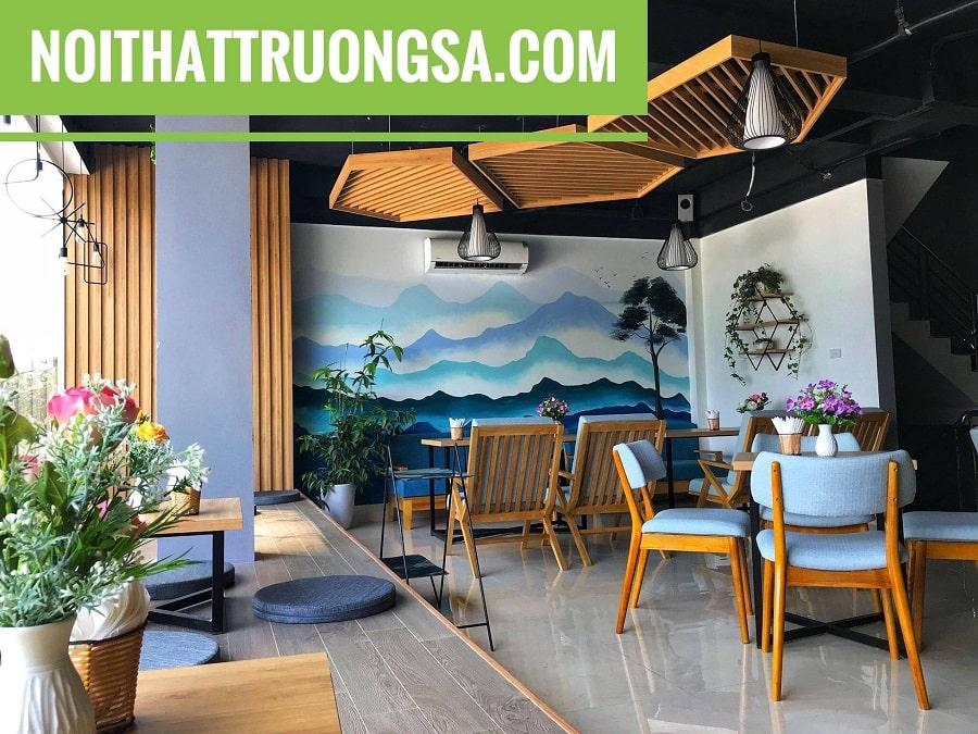 Thiết kế và thi công quán cafe tornado Văn Quán