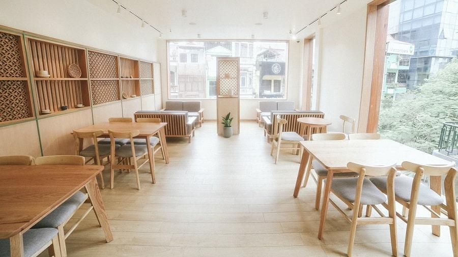 Thiết kế và thi công nội thất quán trà sữa
