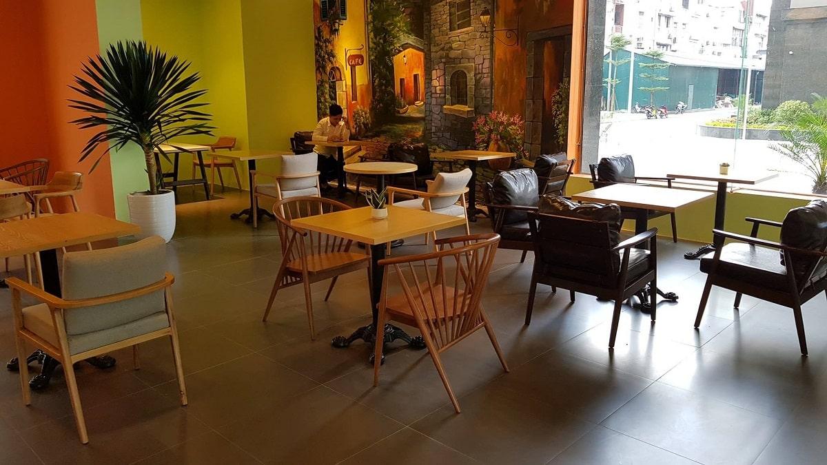 Thiết kế và thi công nội thất quán cafe