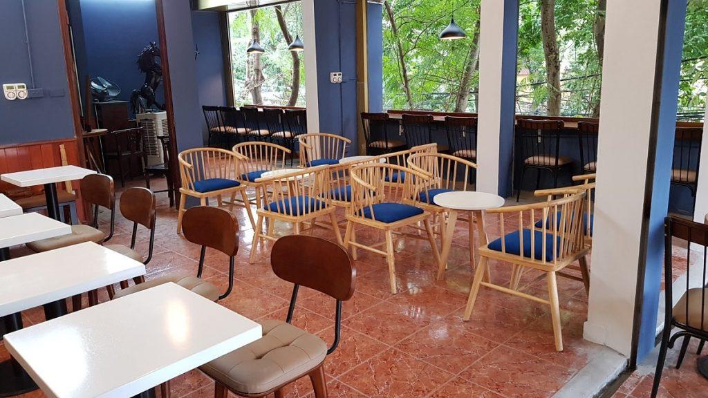 Bàn ghế quán cafe đẹp số 8 Khương Hạ