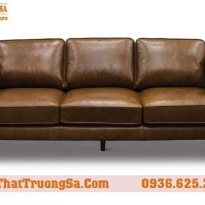 Sofa văng bọc da cao cấp TS312