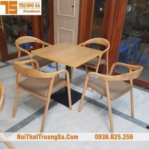 Bàn ghế cafe cao cấp TS325