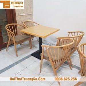 Bàn ghế cafe cao cấp TS326