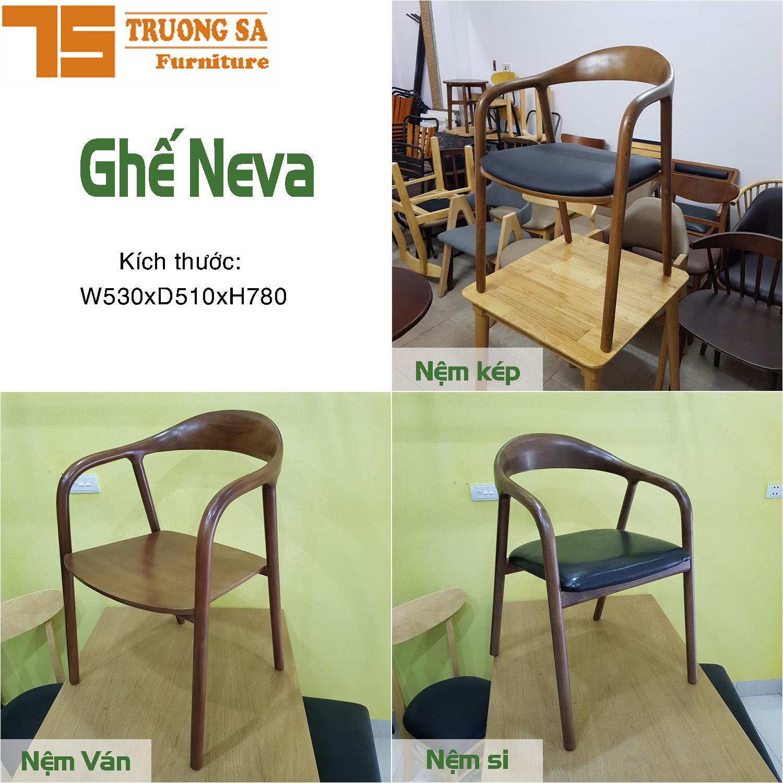 Ghế cafe gỗ TS325