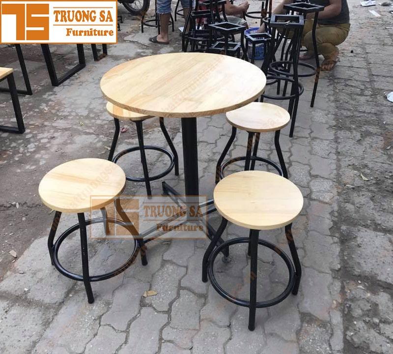 Kích thước bàn ghế cà phê