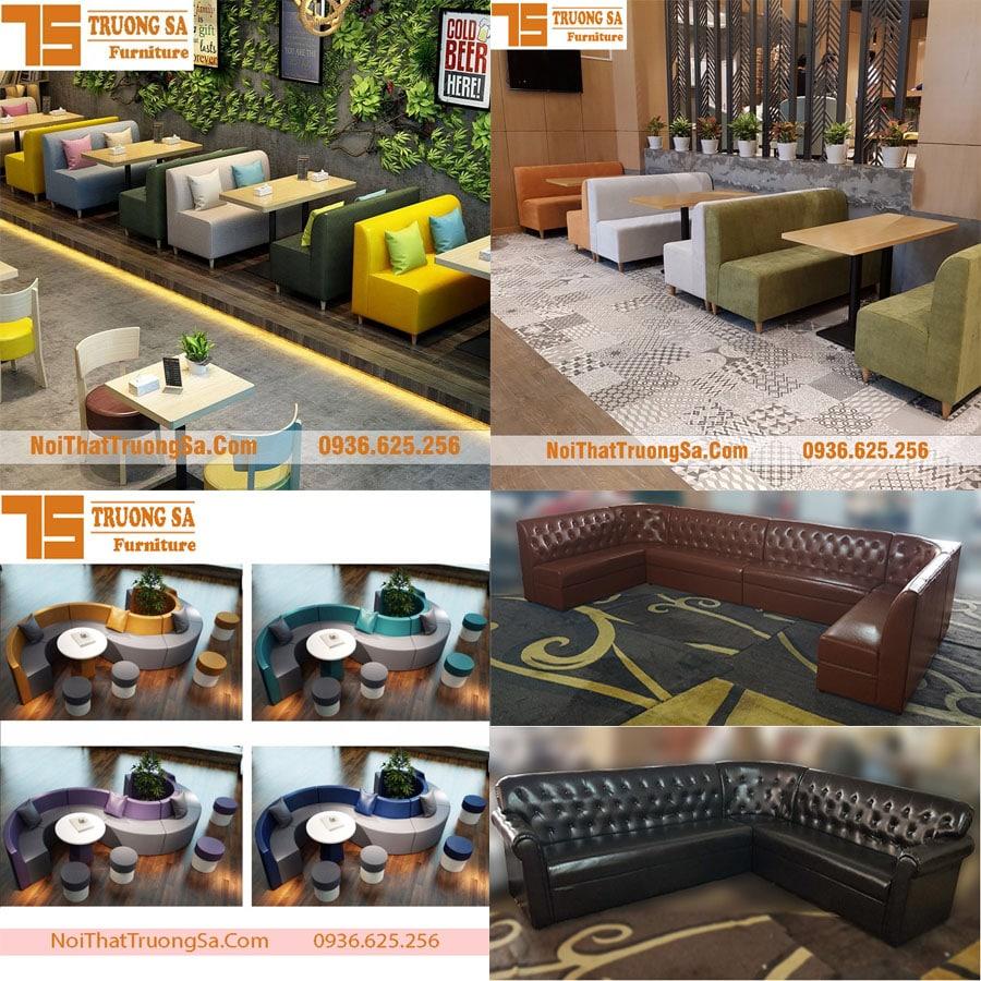 Giá bộ bàn ghế sofa cafe