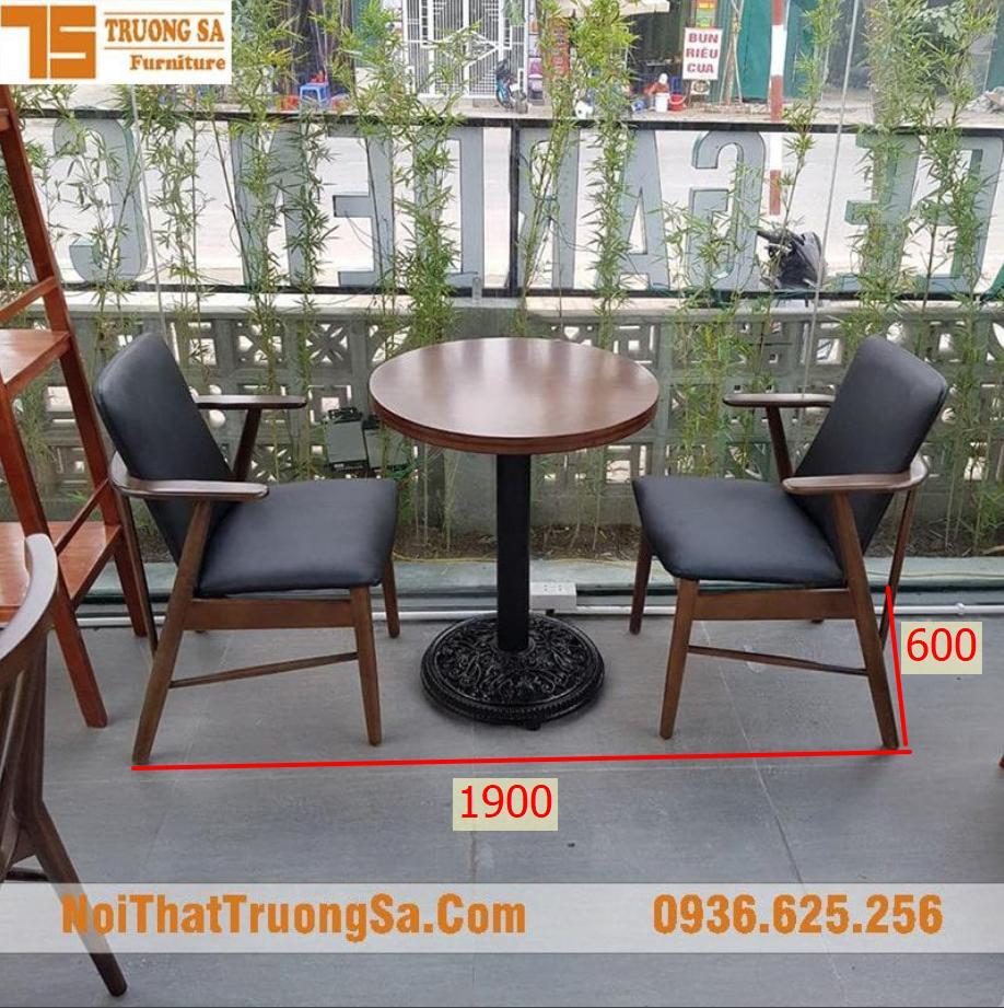 Kích thước bàn ghế cafe