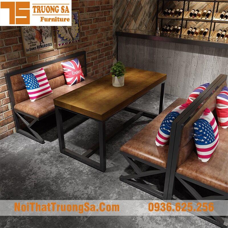 bàn ghế sofa sắt