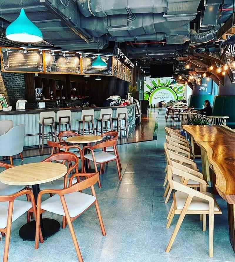 Thi công nội thất quán cafe 300m2