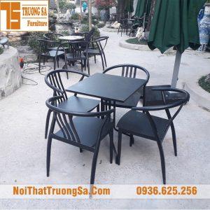 Bàn ghế cafe ngoài trời giá rẻ TS331