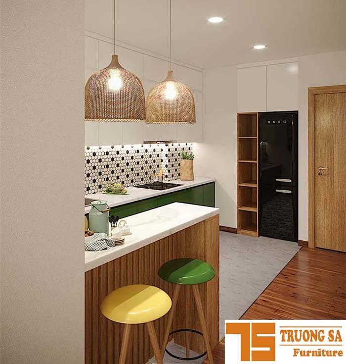 Thiết kế nội thất căn hộ chung cư 3 phòng ngủ -120m2
