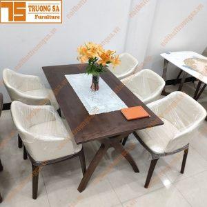 Bộ bàn ăn 4 ghế hiện đại TS395