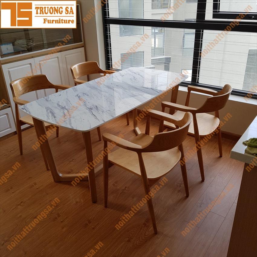 Bộ bàn ăn 4 ghế TS367