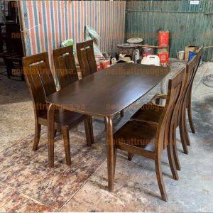 bộ bàn ăn 6 ghế TS385