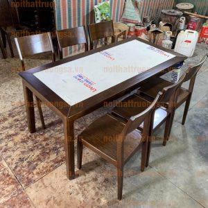Bộ bàn ăn 6 ghế TS390