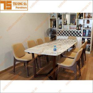 Bộ bàn ăn 8 ghế TS370