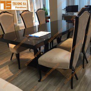 Bộ bàn ăn 6 ghế TS381