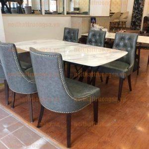 Bộ bàn ăn 6 ghế TS383
