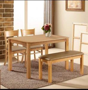 bàn ăn 4 ghế cabin