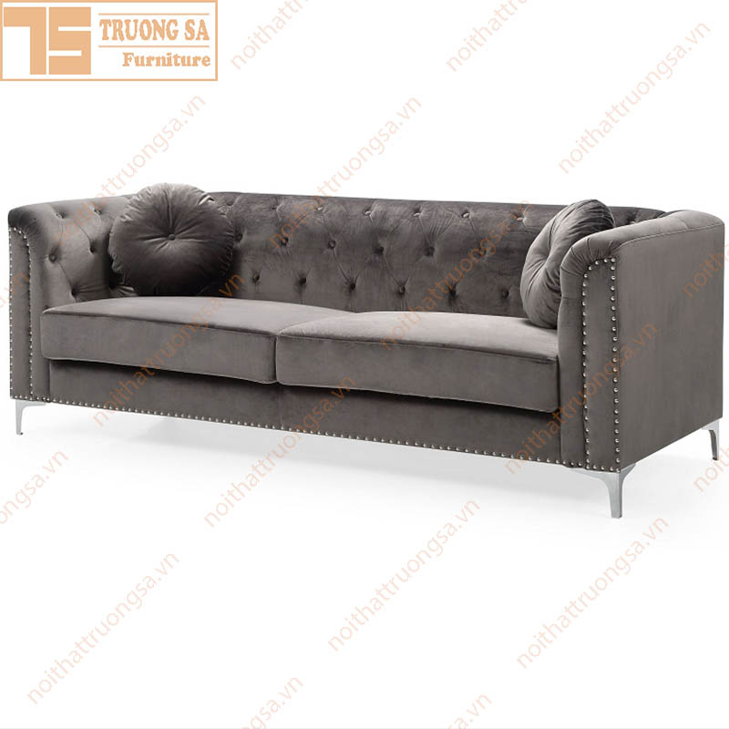 sofa văng nỉ TS510