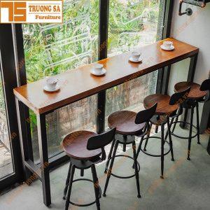 bàn ghế quầy bar TS113