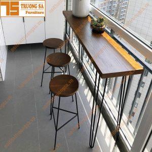 Bàn ghế quầy bar TS114