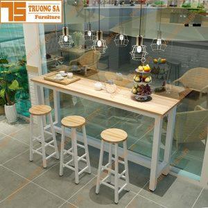 bàn ghế quầy bar TS117