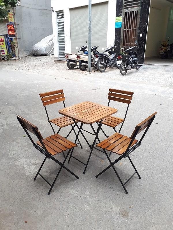 ghế xếp cafe thanh lý
