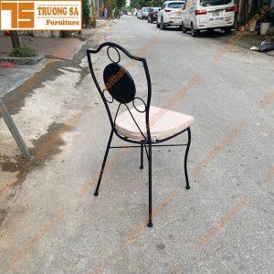 Ghế ngoài trời mosaic TS114